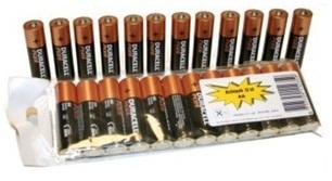 AKTIE 12 stuks Duracell AA Alkaline batterij
