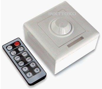 LED dimmer Inbouw/opbouw met afstandsbediening - Inkttoko • Uw adres ...