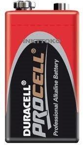 Duracell 9V Alkaline batterij