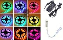 LED-set-5-meter-RGB-5050-(mét-wit)--compleet-Non-waterproof