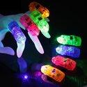 Vinger-Partylampjes-LED--set-van-4-kleuren