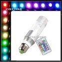 RGB-Cyclinder-lamp-LED--E27-16-Kleuren-mét-afstandsbediening