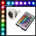 Spot-E27-RGB-Globe-flash-spot-LED--E27-16-Kleuren-mét-afstandsbediening