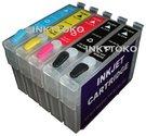 Epson-T0711-T0714-hervulbare-cartridges-(compatible)-mét-2x-black