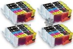 4-sets-Canon-PGI-550-CLI-551-Multipack-compatible-cartridgeset-MET-CHIP