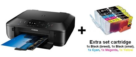 Canon-MG-5750-All-in-one-printer-+-EXTRA-set-XL-cartridges